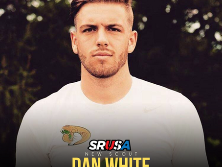 Former SRUSA-Elite Client and Student-Athlete, Dan White, joins as a scout for SRUSA.