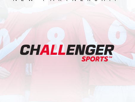 NEW PARTNERSHIP: SRUSA Announce Partnership with Challengers Sports