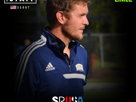 NEW STAFF: Former College Soccer Coach, Chris Limle, joins as a scout.