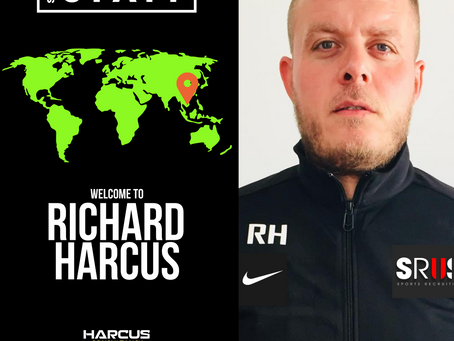 NEW STAFF: Richard Harcus  joins as Scout covering Asia
