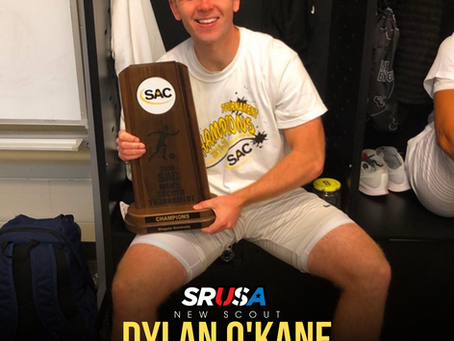 Former Northern Ireland Schoolboys & College Soccer Player Dylan O'Kane, joins as a scout.