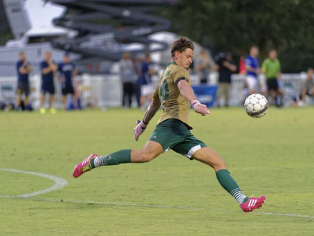 NEW STAFF: Former All Region and All Conference Goalkeeper, James White joins SRUSA.