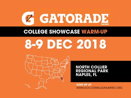 SRUSA Scouting at the Gatorade College Warm-up in Florida this weekend