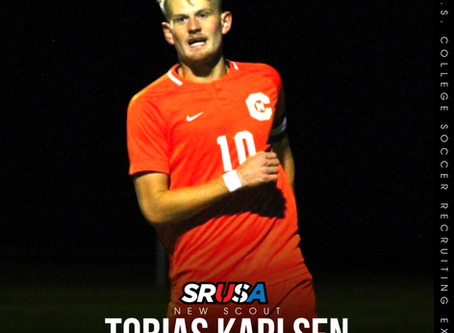 Former Student Athlete, Tobias Karlsen, joins the SRUSA Team as scout for Europe