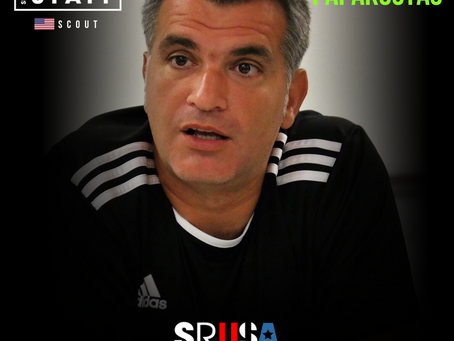 NEW STAFF: Former College Soccer and Pro Player, Andreas Papakostas, joins as a scout.
