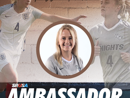 SRUSA Announce New Ambassador - Mollie Rouse
