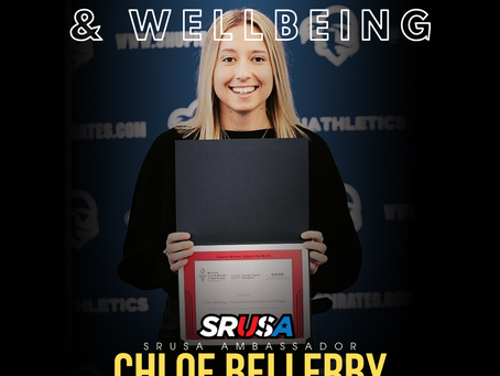 Chloe Bellerby - New SRUSA Mental Health and Well-Being Ambassador