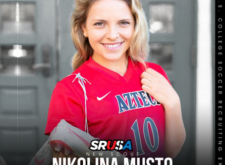 Former DI Student-Athlete turned professional, Nikolina Musto, joins the SRUSA team as a Scout