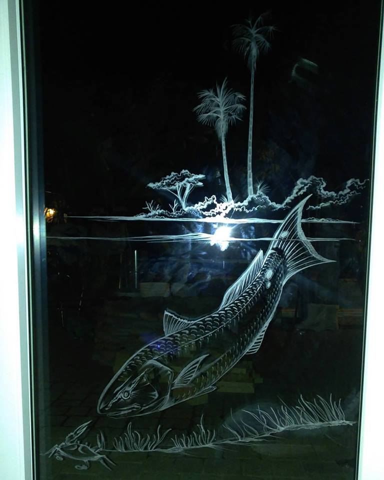 Redfish Door