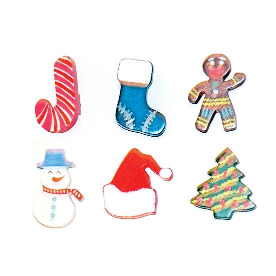 Christmas Knob (6pcs)