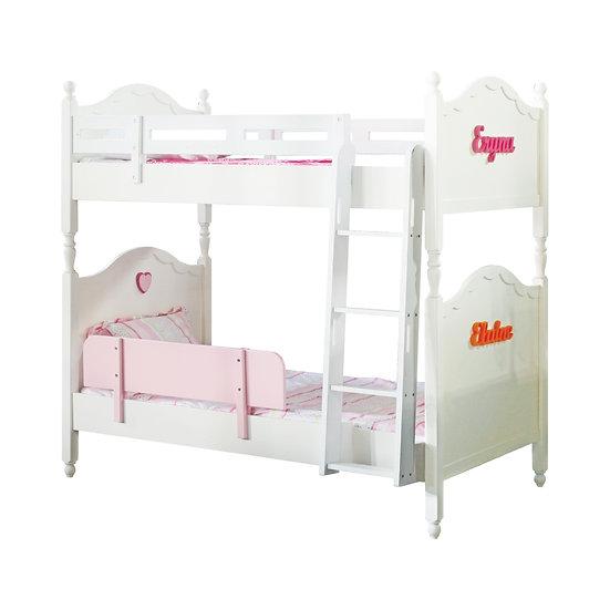 Vanilla Series Super Single Bunk Bed Frame