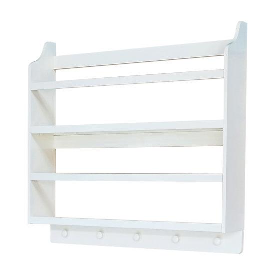 Classic 2 Shelf Book Rack
