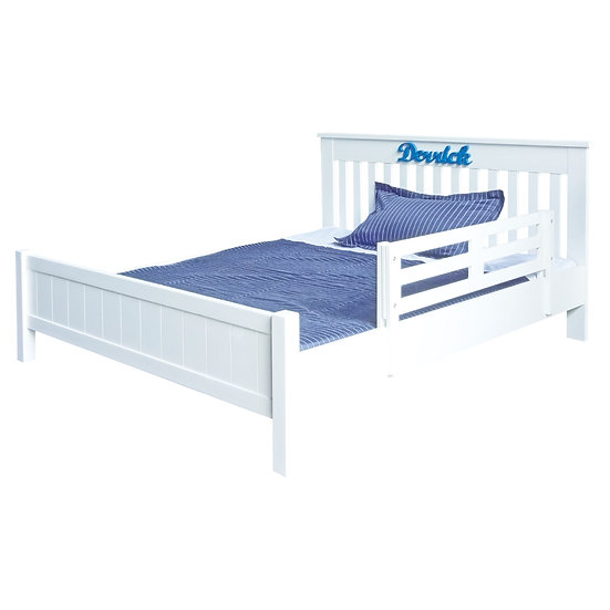 Pinto Series Single Bed Frame With Low Foot Board