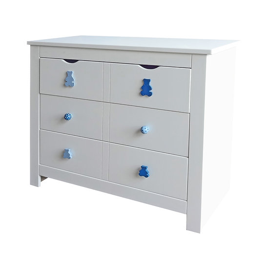 Pinto Series Chest of 3 Drawers Without Extension