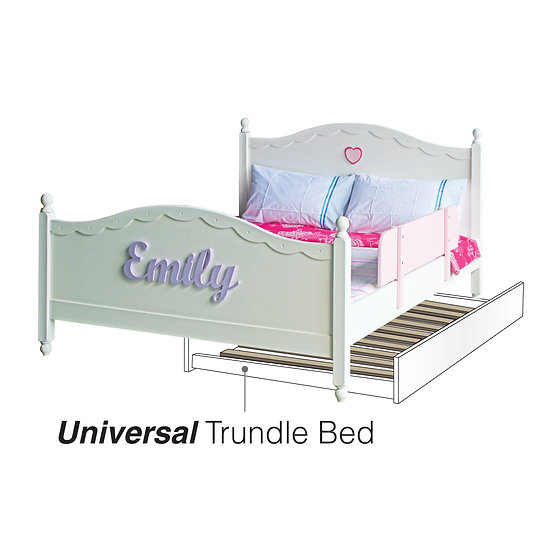 Universal Trundle Single Bed