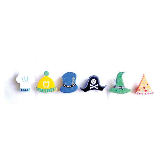 Fancy Hat Knob (6pcs)