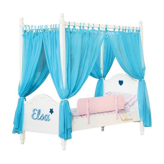 Vanilla Series Canopy Super Single Bed Frame