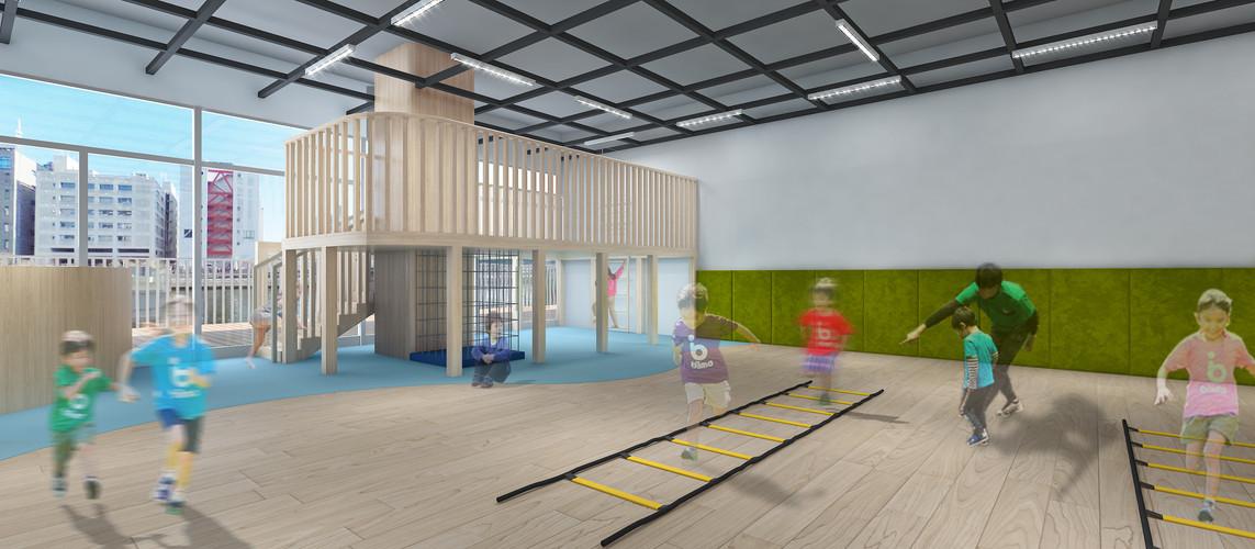 スクールの設備と内装