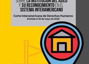 Opinión  25 sobre la institución del asilo y su reconocimiento en el Sistema Interamericano