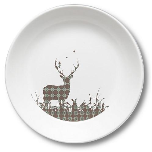 Spring Forest Bowl Art No. 247