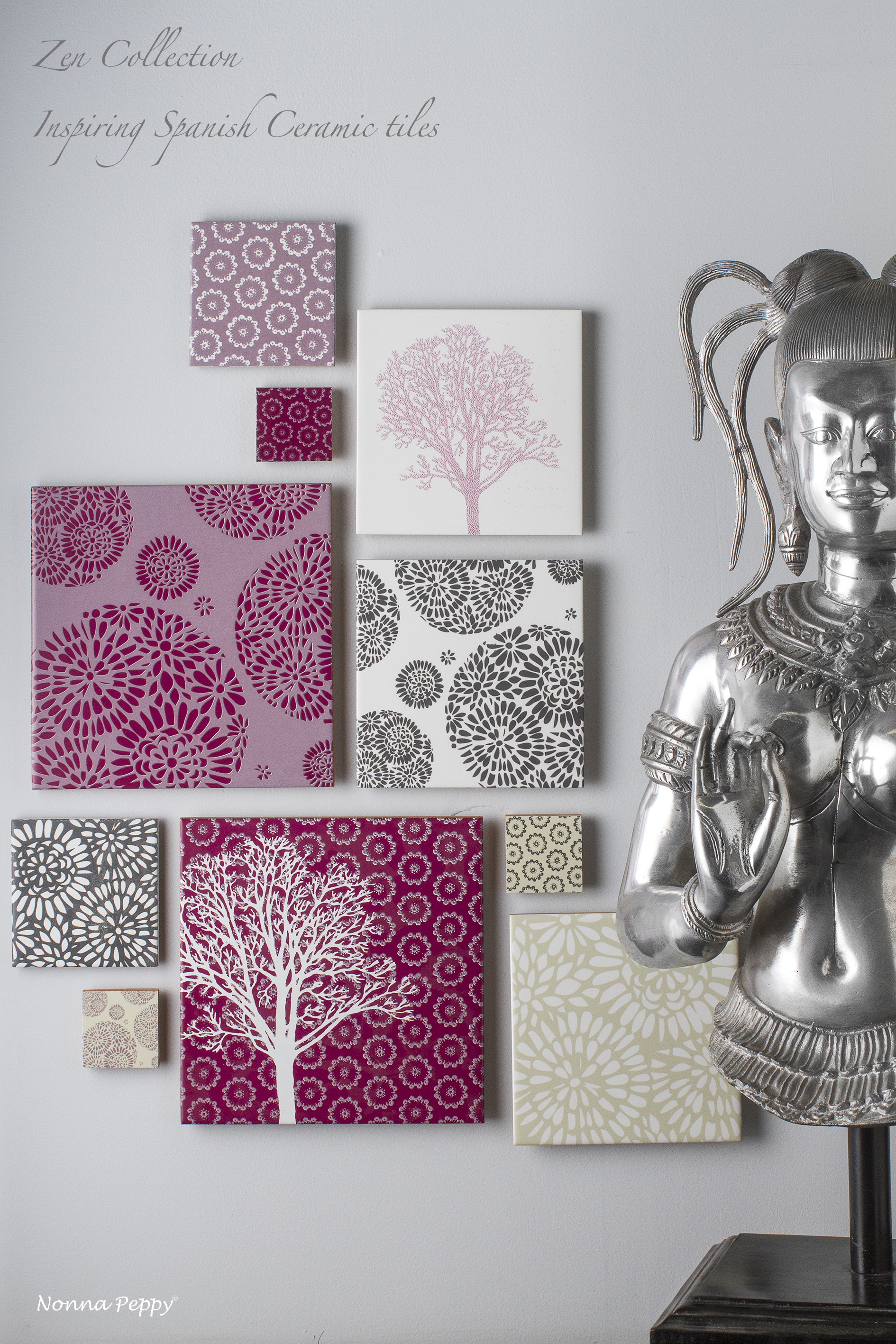 Zen Collection ceramic tiles