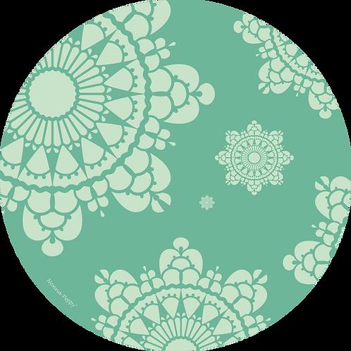 Zen Minty carpet Art. No. 3523