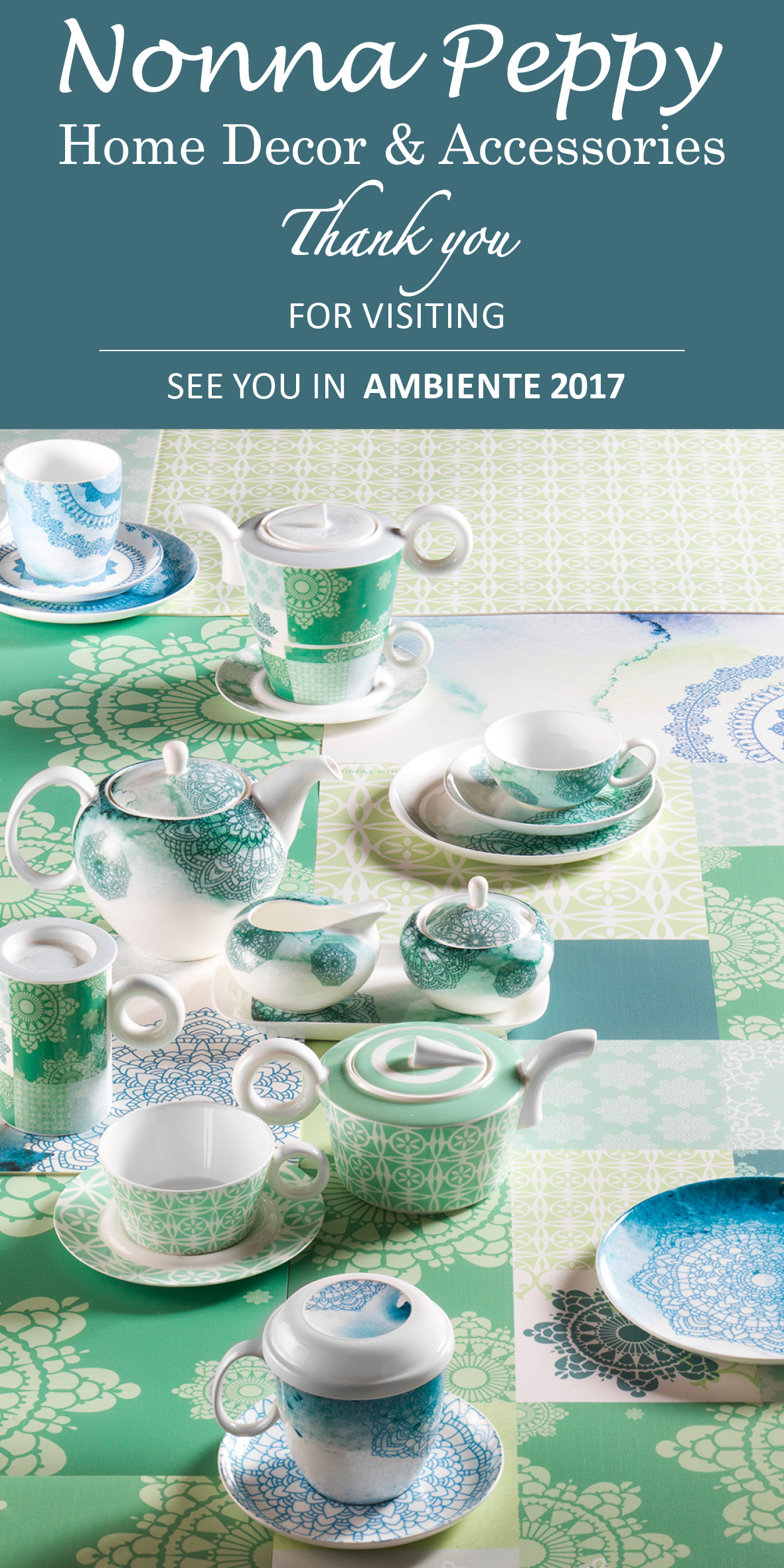 Bone china Tea-ware Collection