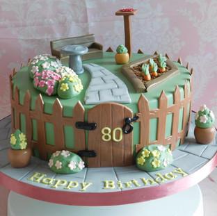 Gardeners Birthday Cake