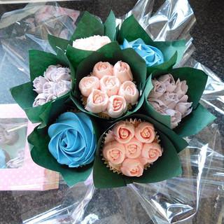 Bouquet Cup Cakes