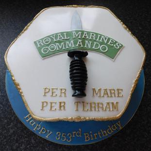 Birthday cake, fancy cake, celebration cake, pokemon cake, peppa pig cake, angelic delights, Lincoln, Lincolnshire, Royal Marine Cake