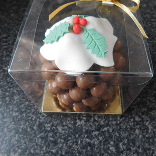 Christmas Cake Angelic Delights Lincolnshire