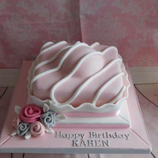 Fondant Fancy Birthday Cake
