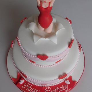 Betty Boo Birthday Cake