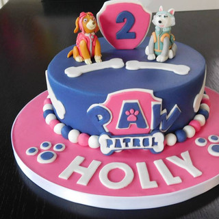 Paws Birthday Cake