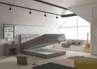 Łóżko VISALIA