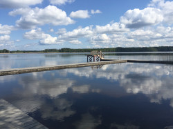 Hällsjön - Fancy a swim?
