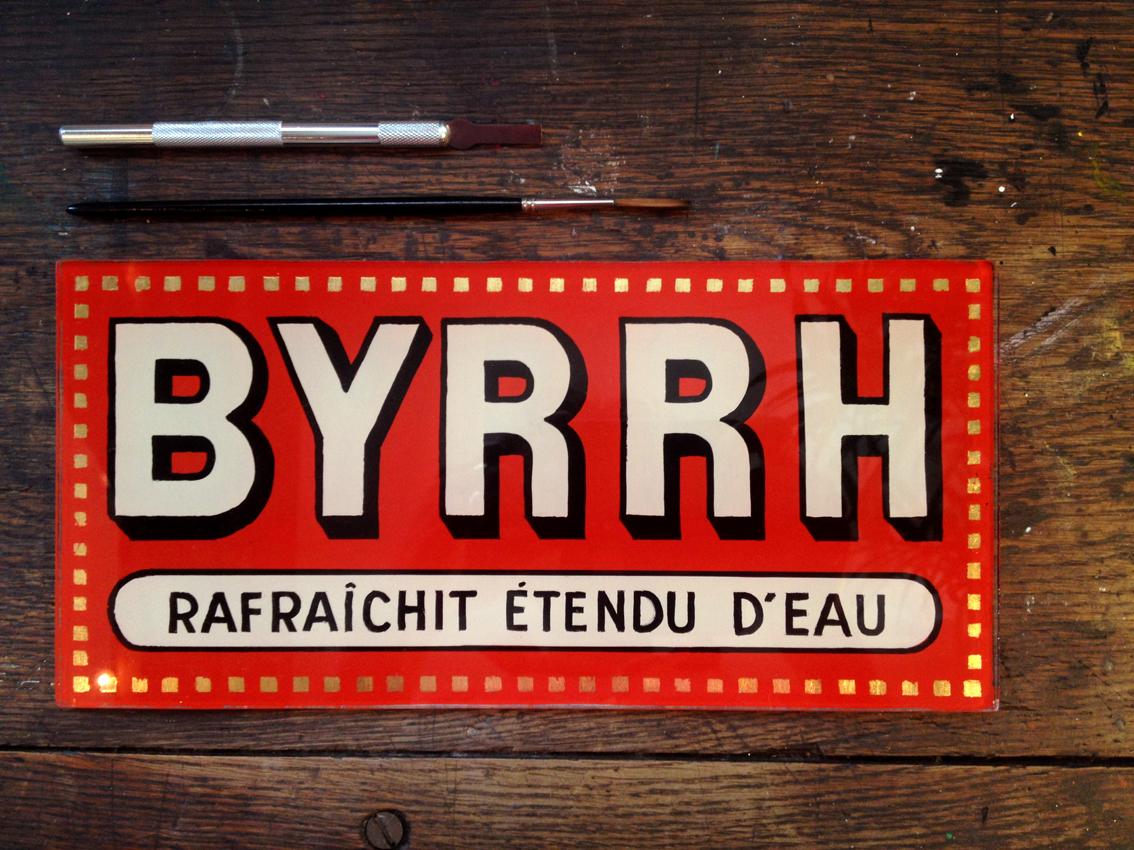Publicité Byrrh