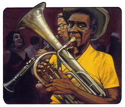 illustration JAZZMAN 1998