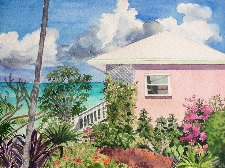 The Pink House, Marsh Harbor