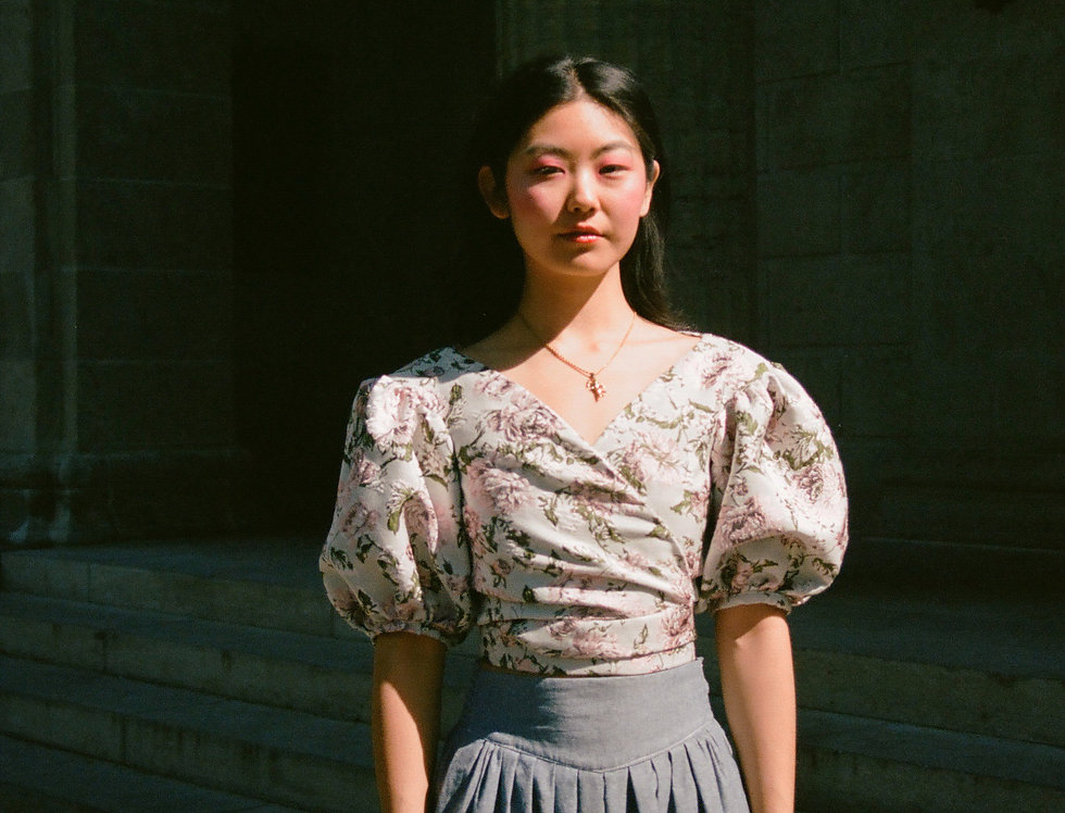 Marie Blouse - Rose