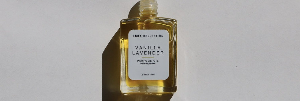 Vanilla Lavender Perfume Oil