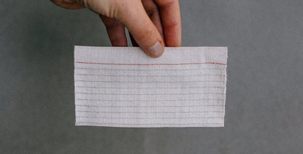 Woven Lined Index