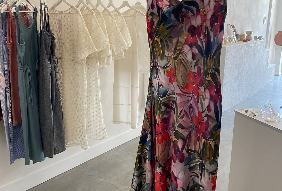 Calla Lily Dress - Floral