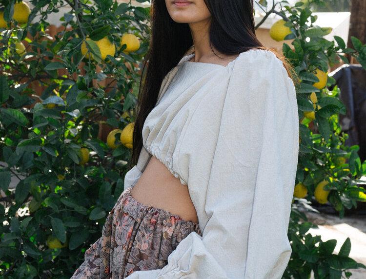 Selena Top - Natural