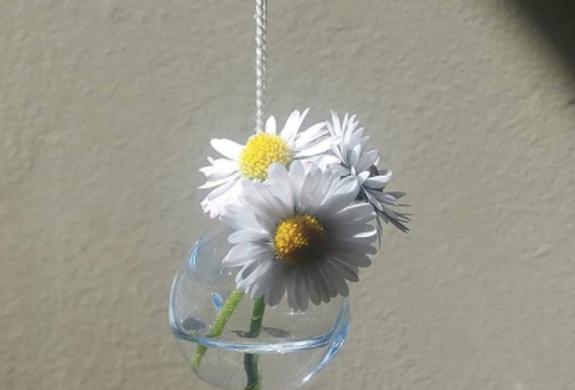 Glass Vase Necklace