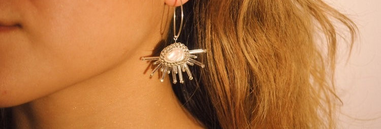 Cumulus Earrings - Silver