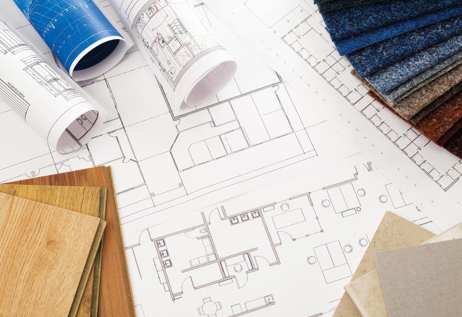 Hochwertige Baumaterialien