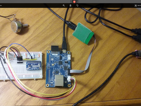 Add ADC to S5D9 IOT board
