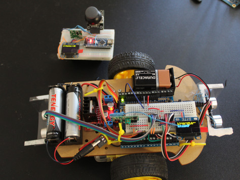 Arduino UNO Based Remote Controlled Toy Car (Version 1.0 with 433Mhz RF)
