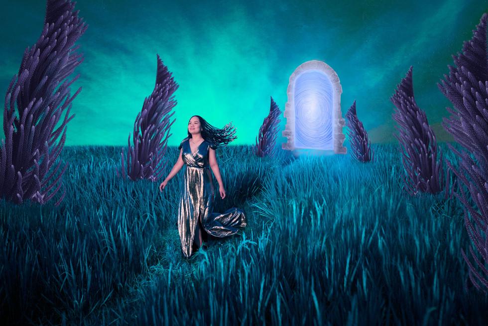 Portal into a new world - Artistic Portr
